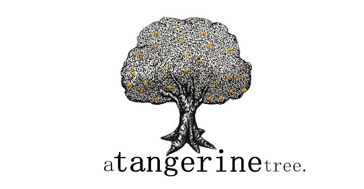 a tangerine tree