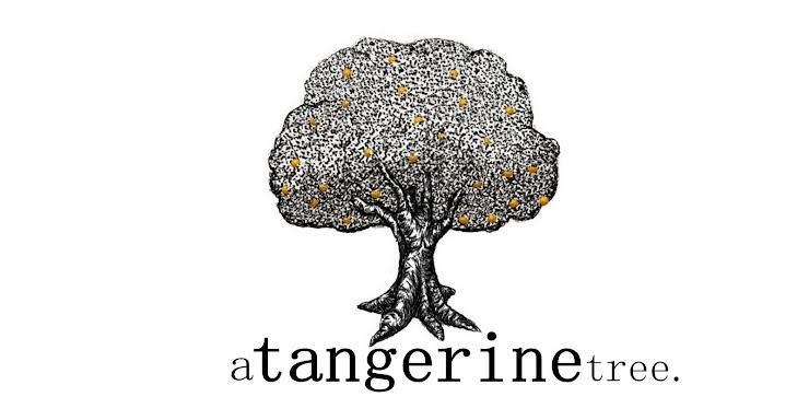a tangerine tree