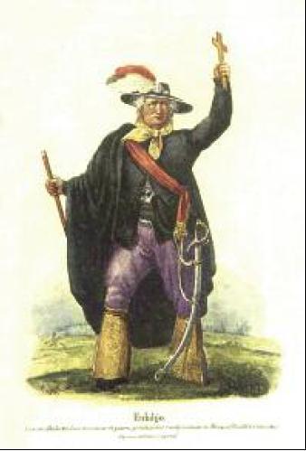 El primer retrato de Hidalgo fue publicado en el México independiente
