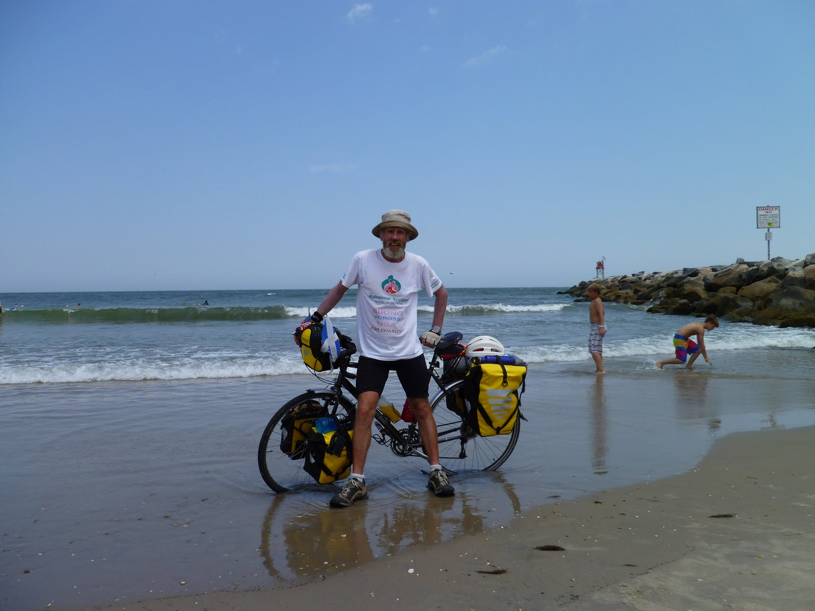 Biking across USA