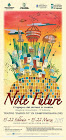 """affiche pour """"note future"""" 2015, concours de musique"""