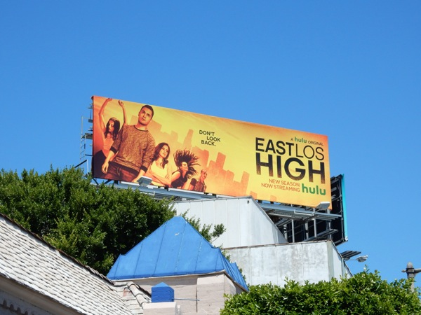 East Los High season 3 Hulu billboard