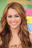 Miley Cyrus Nickelodeon's 24th Annual Kids' Choice Awards at Galen Center
