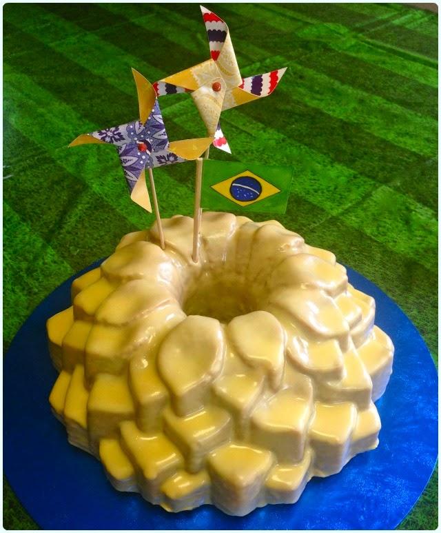 Passionfruit Caipirinha Bundt Cake