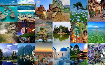 Las imágenes más hermosas del mundo 2011 | Collage Wallpaper