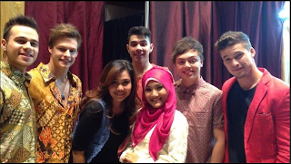 Download Mp3 Fatin feat The Collective - Payphone (X Factor Around The World)