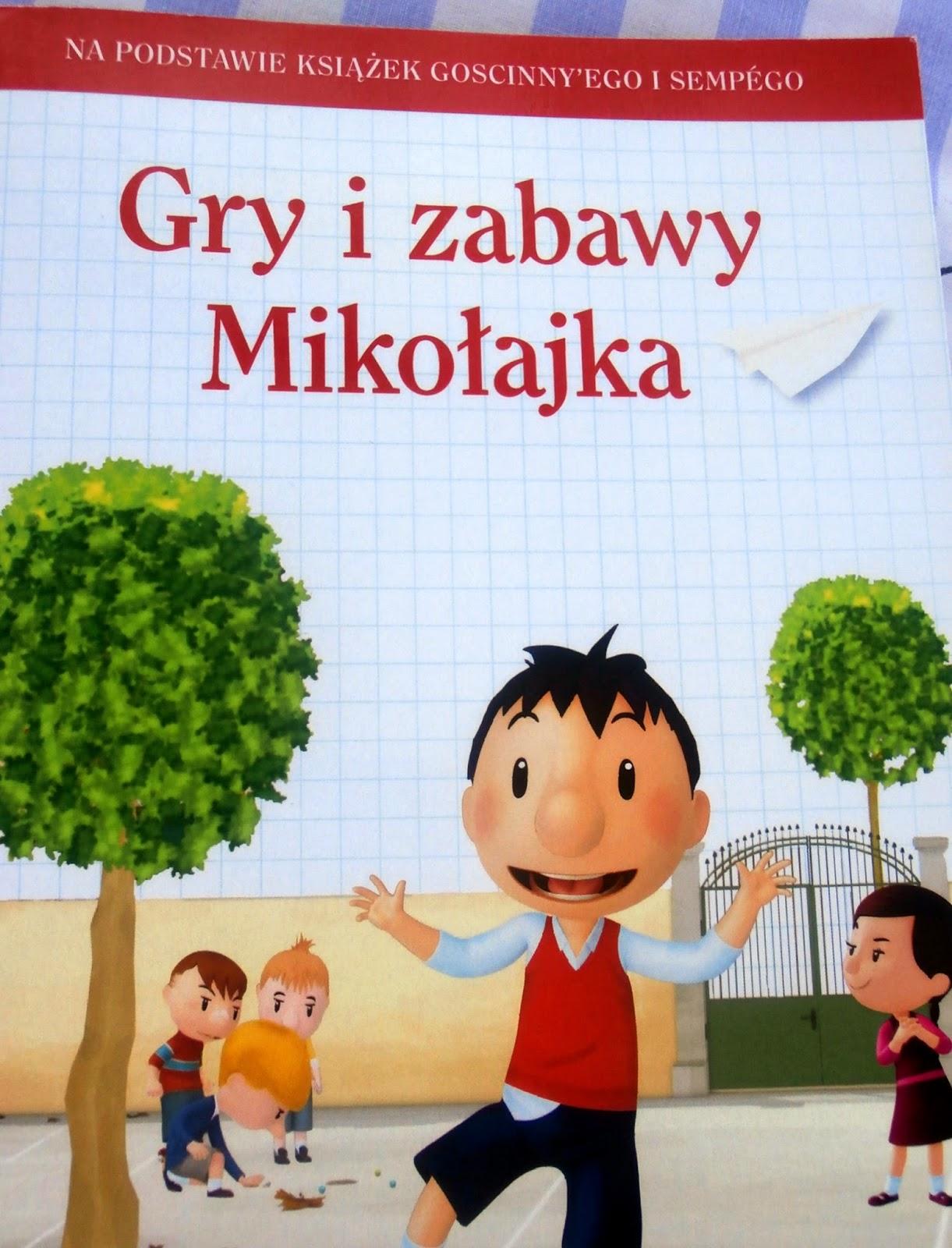 Gry i zabawy Mikołajka.