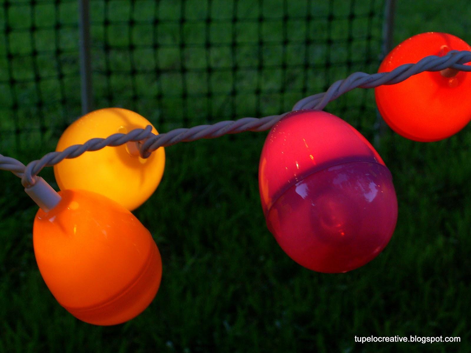 Easter String Lights Target : Tupelo Creative: Easter Project - Egg String Lights Tutorial