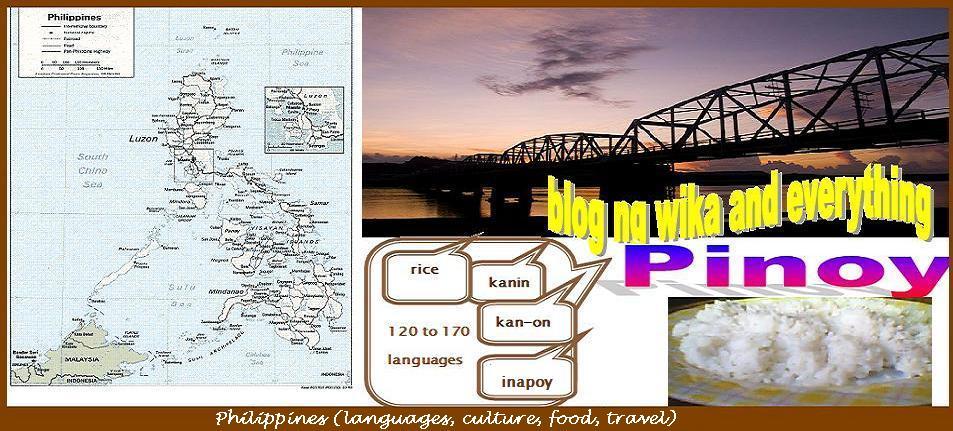 Blog ng wika and everything Pinoy