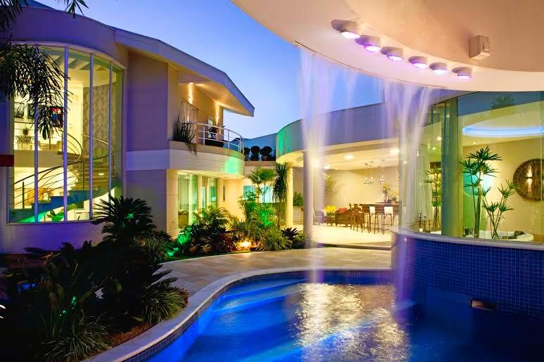 Top Construindo Minha Casa Clean: Decoração Moderna com Varanda  HH73
