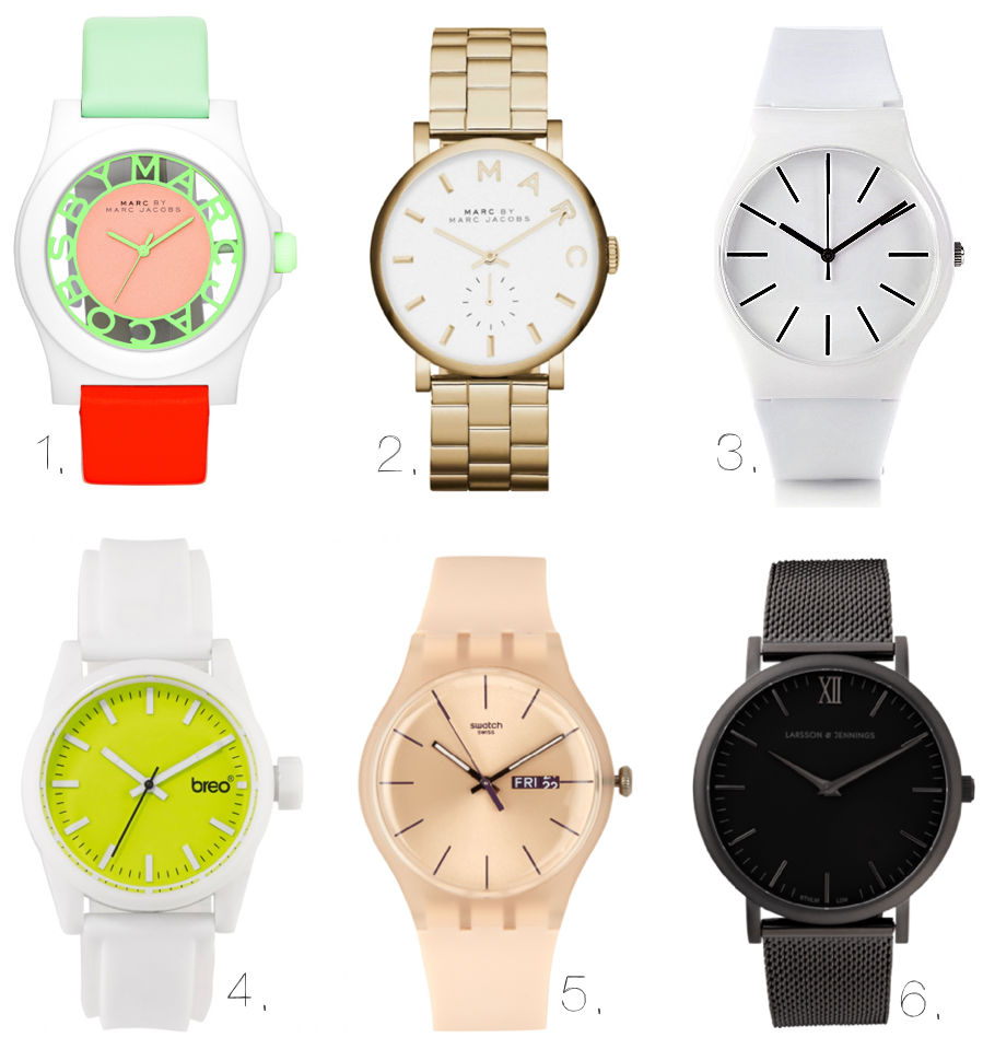 The Lust List, Watches