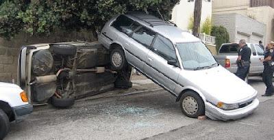 Accidente de coche en Mexico