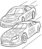 pintar carros de corrida
