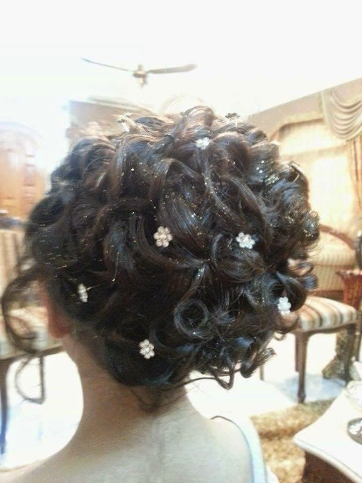 Stylish Hairstyles for Brides 2015