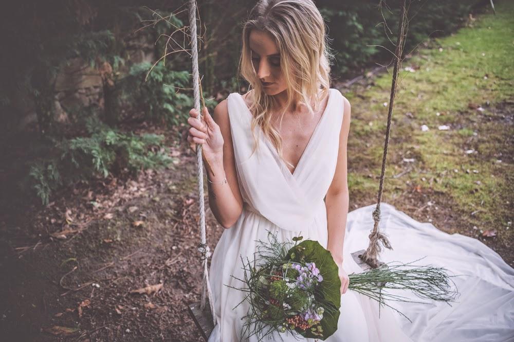 Vestido de novia tul bouret