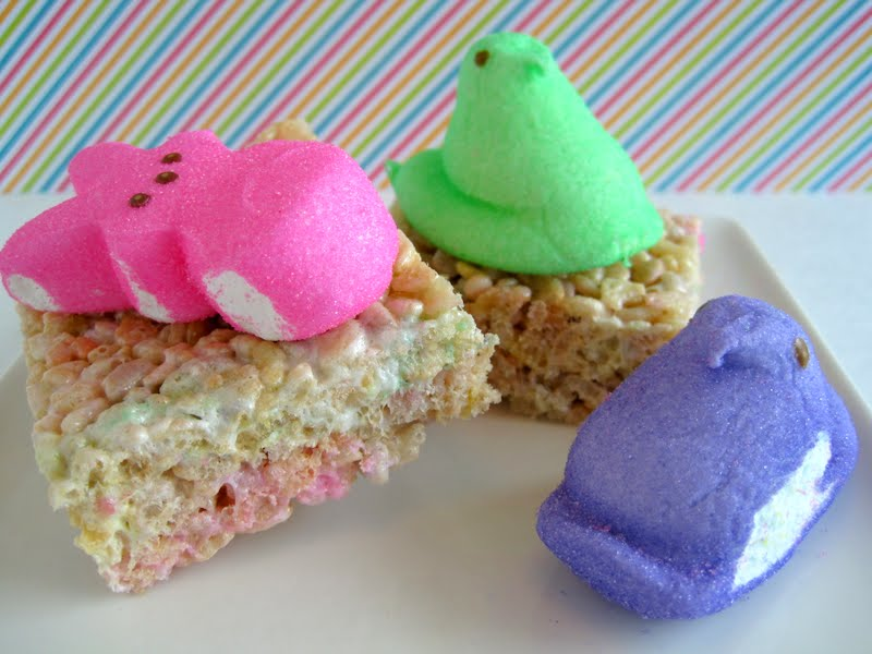 Baking in the 'Burg: Peeps Krispie Treats