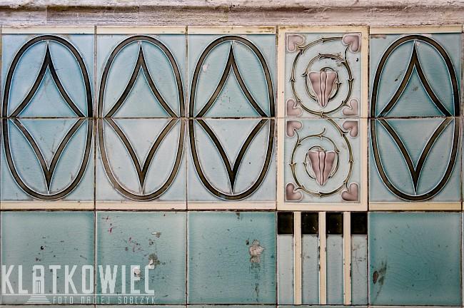Szczecin: secesyjne kafle w kamienicy