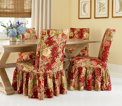Dining Room on Dining Room Chair Slipcovers Available For Your Dining Or Kitchen