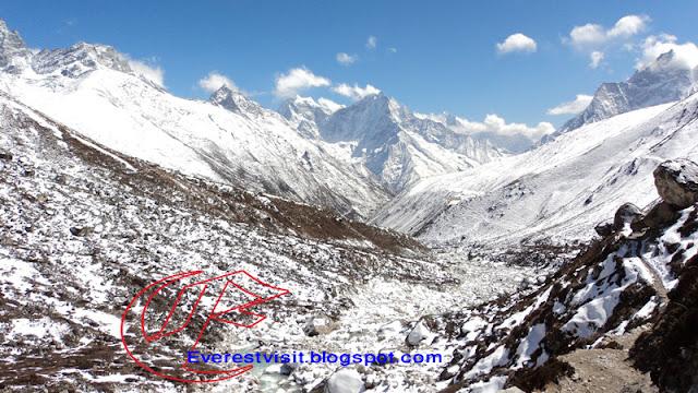 Snow in Mountain region