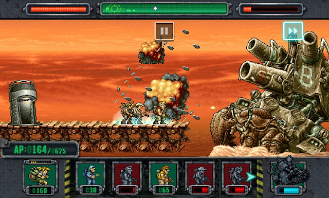 Descargar METAL SLUG DEFENSE V1.1.0 Mod APK [Medallas Ilimitadas] Full para android (Gratis)