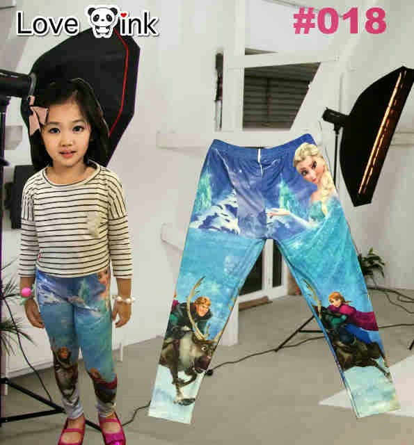 Legging Kids Frozen 018.Love Ink.