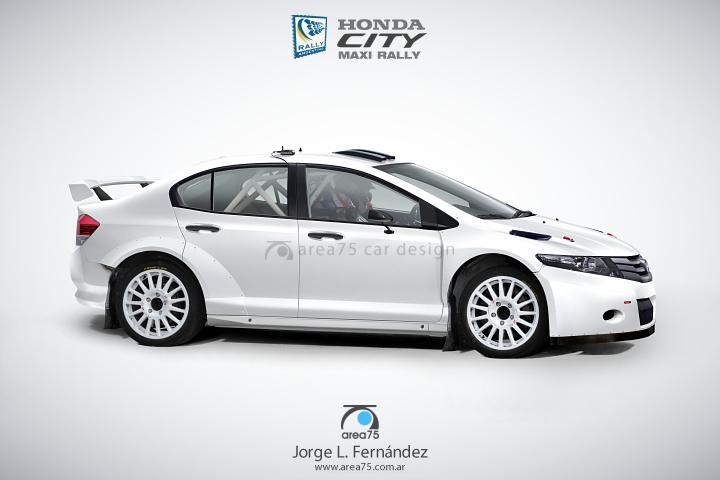 Honda City Maxi Rally (El Honda que no fue II)