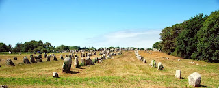 The Carnac stones are acollection of megalithic sites around village of Carnac