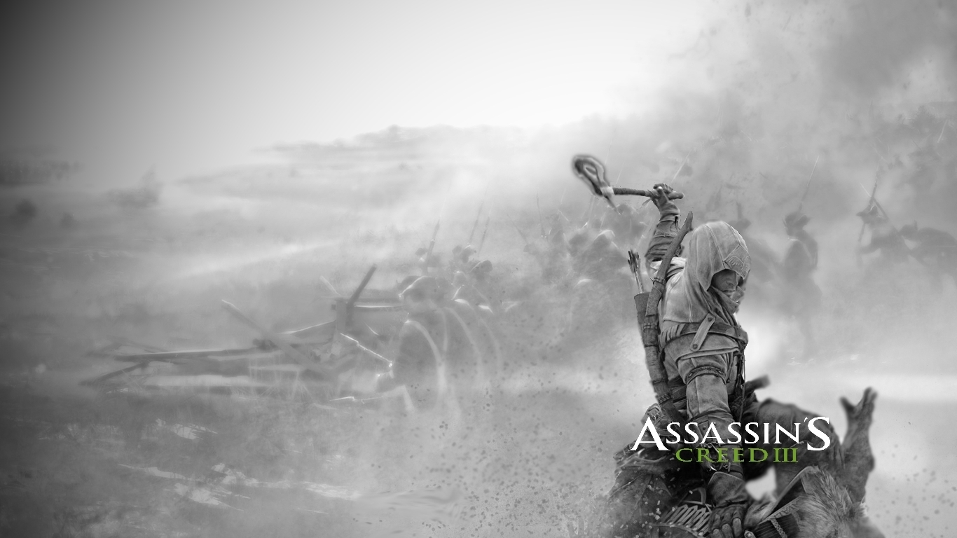 The Elderly Gamer Fanmade Assassins Creed 3 Wallpaper