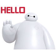Big Hero 6: Animated Stickers
