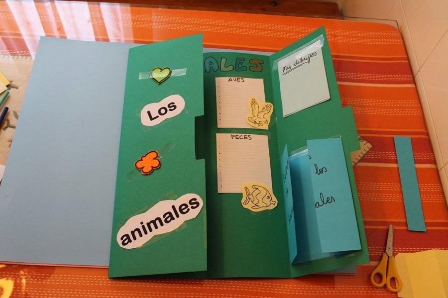 Maestra de primaria c mo hacer un lapbook paso a paso for Como hacer un cuadro con fotos familiares