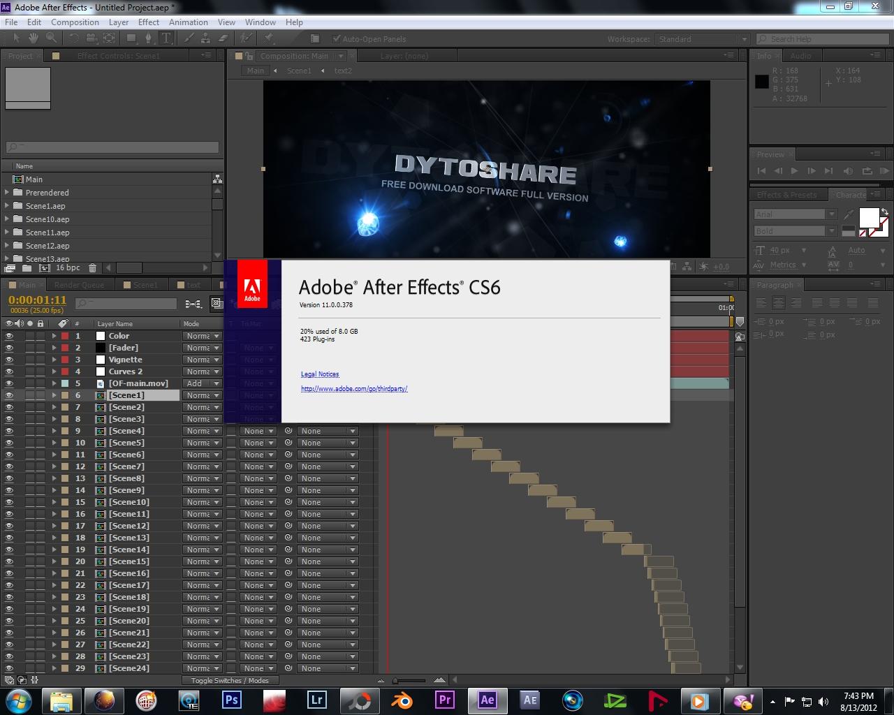 Adobe After Effect CS6 Full Version » Download Software Gratis