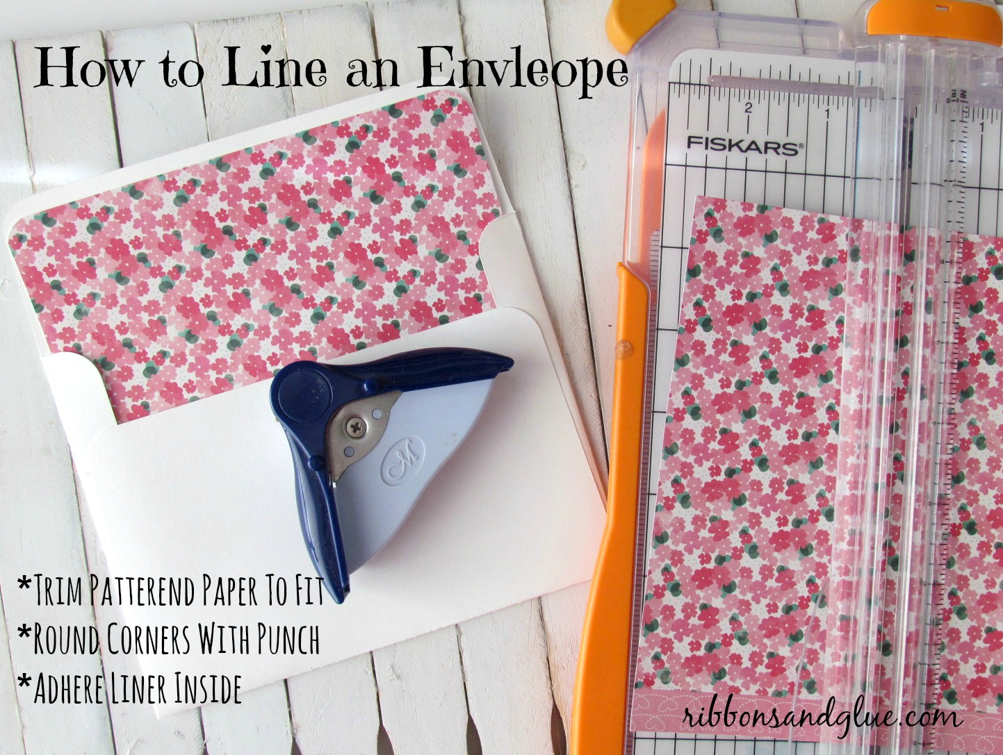 How to Line Envelopes