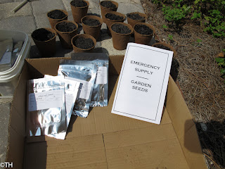 Survival Seeds…an experiment – 12/6/11