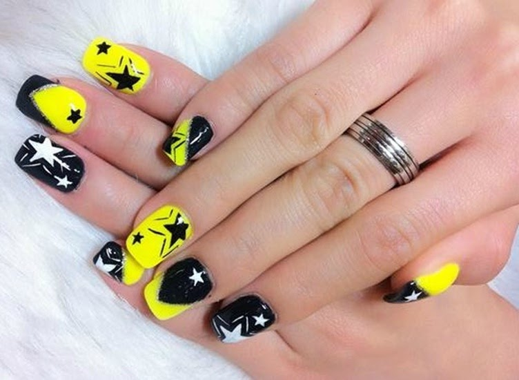 Uñas amarillas \u2013 Nails Yellows 2016,2017
