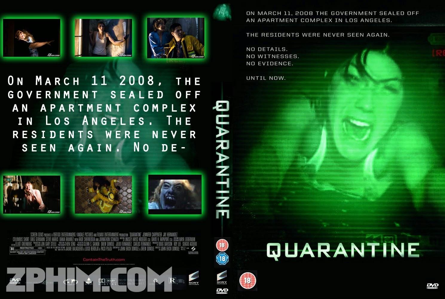 Ảnh trong phim Cách Ly - Quarantine 1