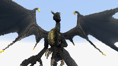 Epic Minecraft dragon