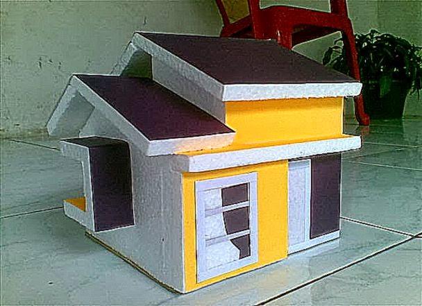Cara Membuat Maket Rumah Minimalis Modern dan Sederhana  Chafamedia