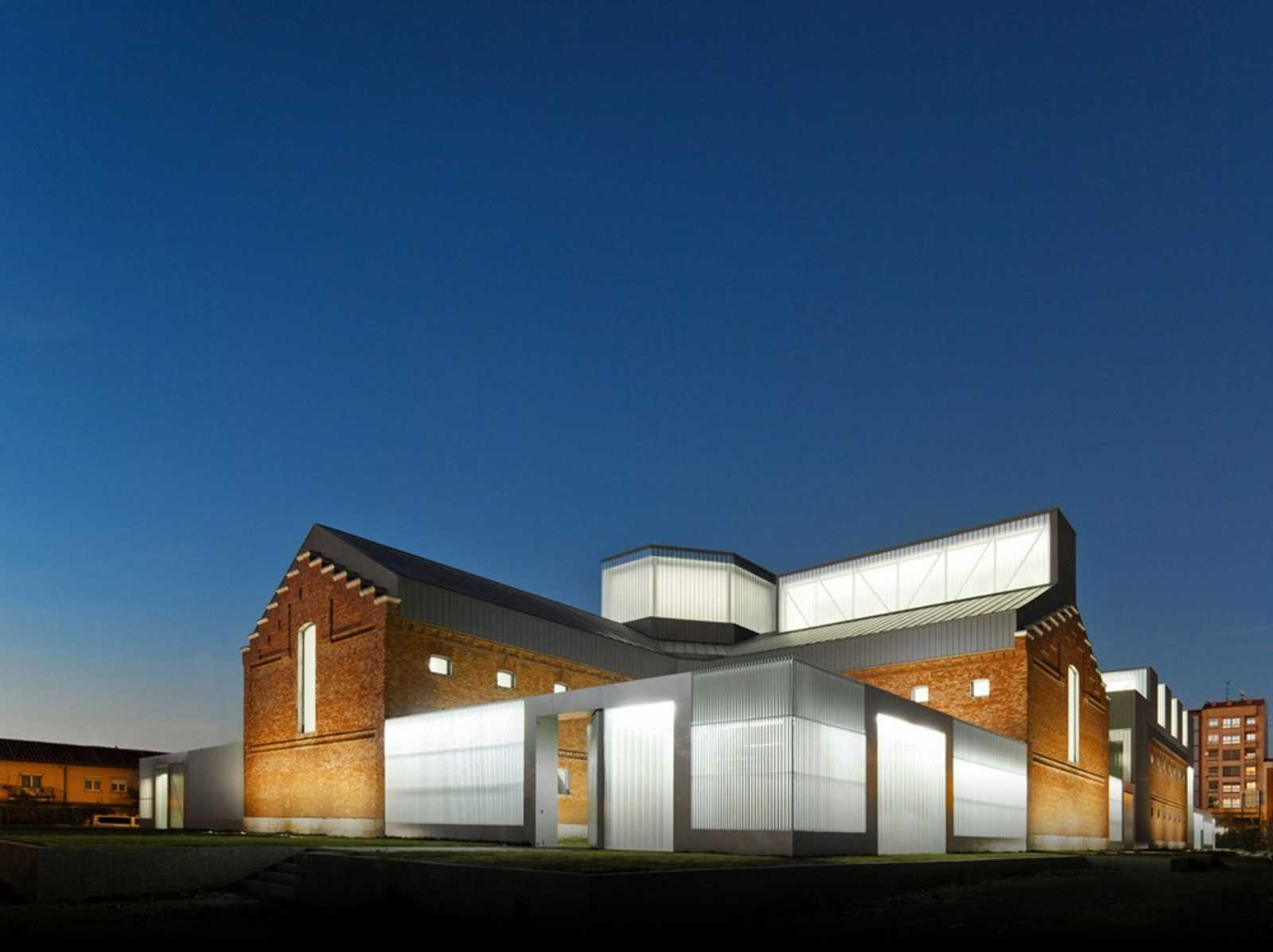 Civic center by exit architects a as architecture