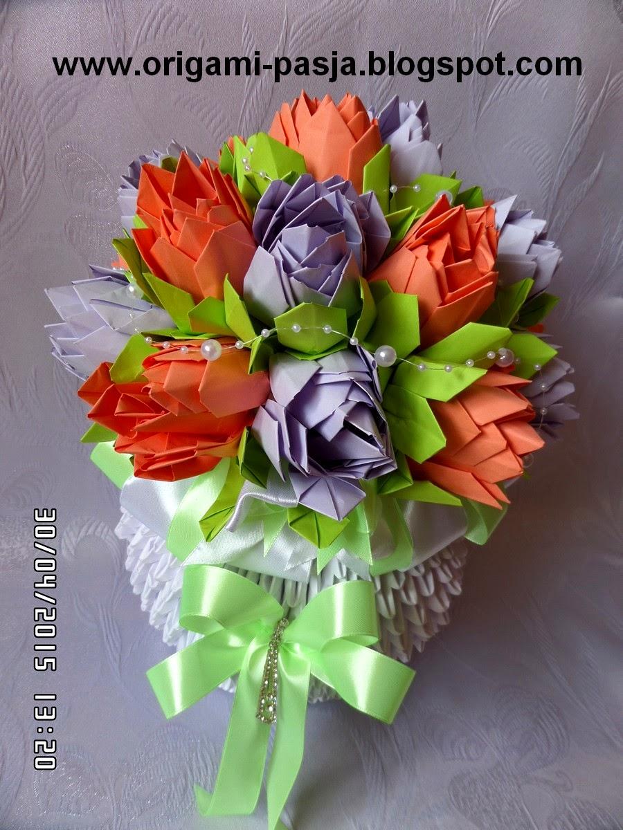 origami,lotos, kwiat