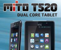 Spesifikasi Harga Tablet Mito T520