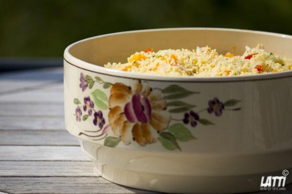 Zomerse couscous