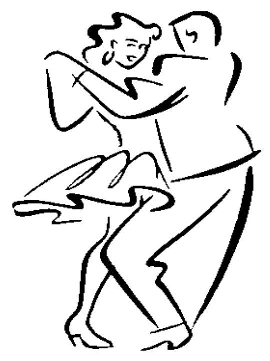 Dibujo de baile de salsa - Imagui