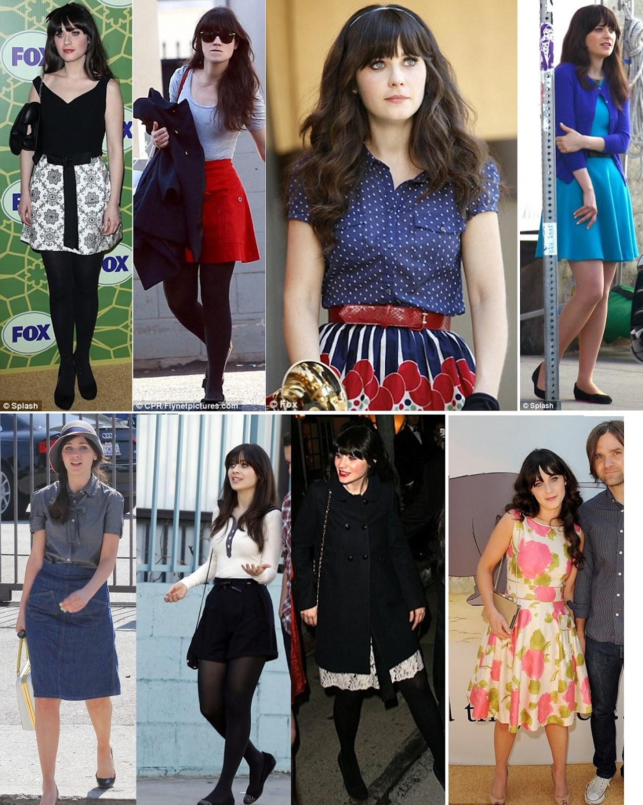 Zooey Deschanel Fashion The Perfect Hiding Pla...