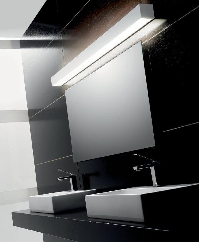 Arredamento moderno illuminazione bagno moderno - Applique per specchio bagno ...