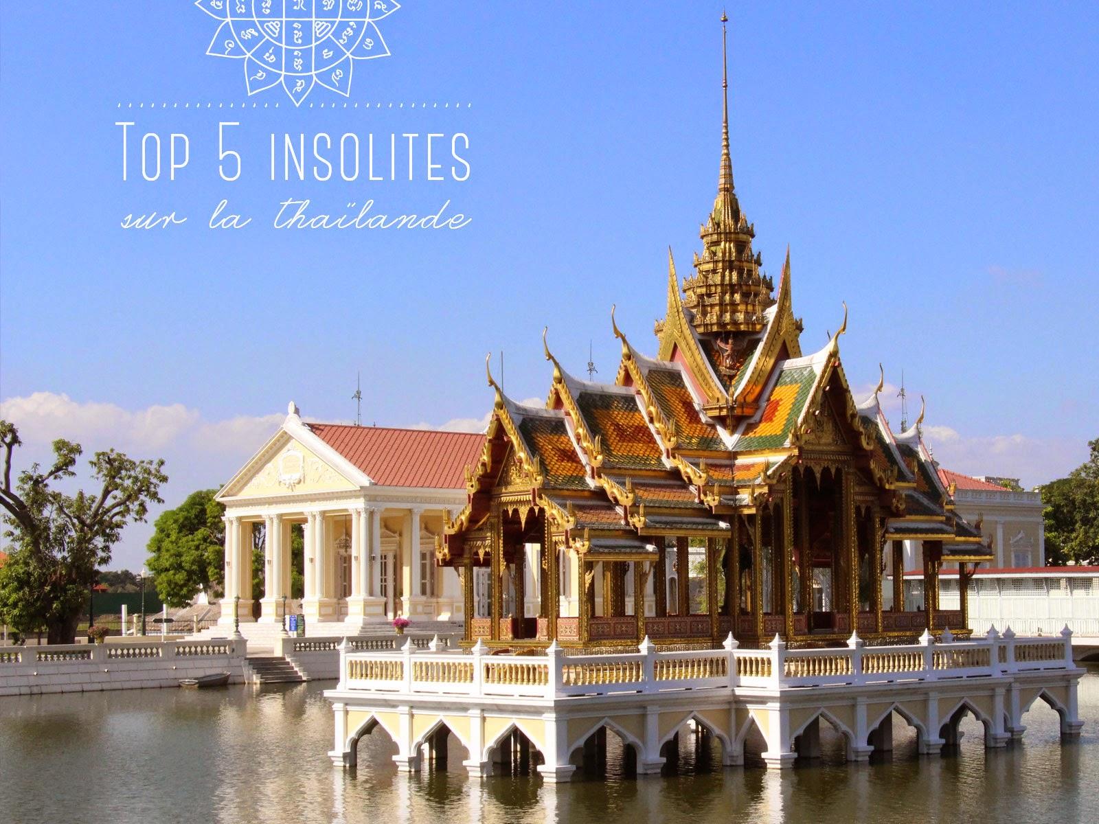 insolites thailande