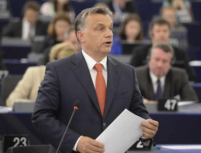 Orban no Parlamento Europeu