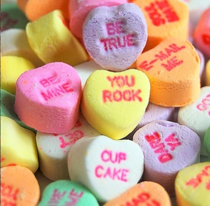 Valentine S Day Candy Hearts Messages Quotes