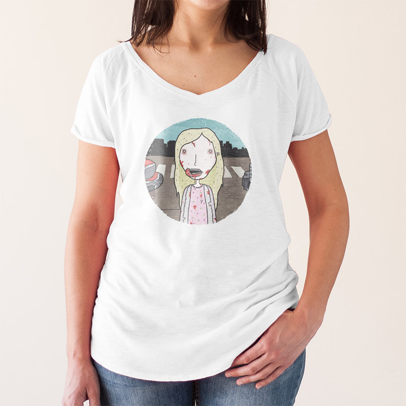 http://www.lolacamisetas.com/es/producto/632/camiseta-the-walking-dead-little-zombie-girl