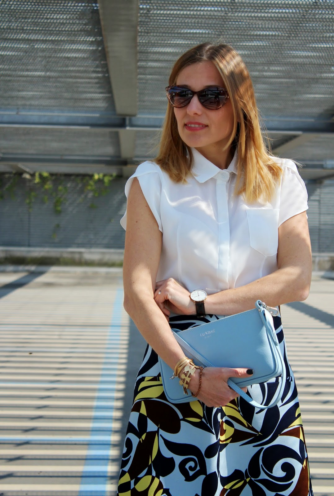 Eniwhere Fashion - Zara Skirt - Seventies - Lux Bag - Caco Design