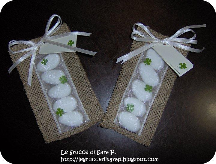 spesso Le grucce di Sara P.: MATRIMONIO: Cadeau per gli invitati e bomboniere YB97